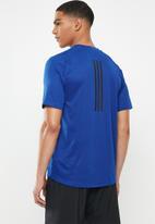 adidas Performance - Z ft 3st tee - blue