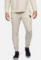 Under Armour - Project rock terry jogger - white