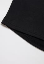 Rebel Republic - Boys styled short sleeve T-shirt - black