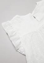 POP CANDY - Girls tutu & tee set - white & green