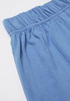 Rebel Republic - Shorts and tee pj set - blue & turquoise