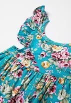 POP CANDY - Floral dress & pants set - multi