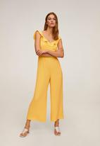 MANGO - One-piece suit red - yellow