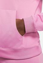 Nike - W nsw track suit - pink & white