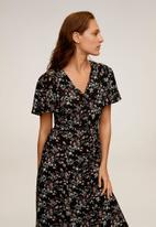 MANGO - Dress Clau - black