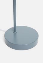 Sixth Floor - Simple side table lamp - steel