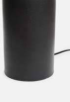 Sixth Floor - Orly table lamp - black