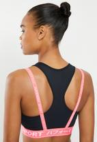 Superdry. - Training graphic bra - coral & black
