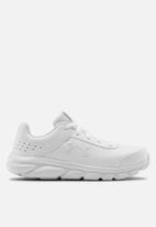 Under Armour - UA Grade School assert 8 ufm syn sneakers - white