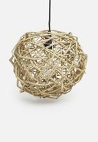 Sixth Floor - Nest pendant - natural