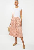 edit - Dirndl skirt - multi