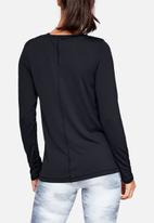 Under Armour - Armour long sleeve top - black