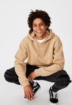 Factorie - Basic hoodie - desert brown