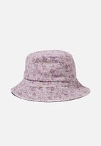 Rubi - Bianca bucket hat - purple