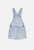 Free by Cotton On - Sophie denim shortall - blue