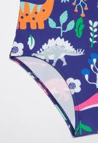 POP CANDY - Girls printed swimsuit - blue