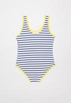 POP CANDY - Girls stripe swimsuit - multi
