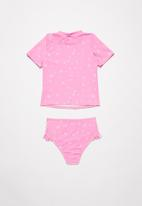 POP CANDY - Polka dot two piece swimsuit - pink