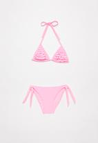 POP CANDY - Girls bikini set - pink