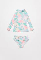 POP CANDY - Tropical 2 piece swimsuit - multi