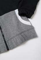 Nike - G NSW Nike air fz hoodie - black & grey