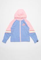 Nike - Girl  NSW heritage fz hoodie - pink & blue