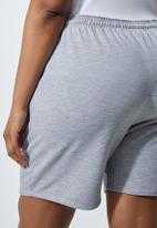 Superbalist - Longer length track shorts - grey