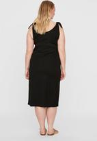 Vero Moda - Petra sleeveless calf dress - black