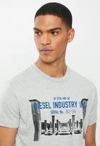Diesel  - Diego-s13 T-shirt - grey