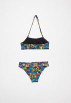 Rebel Republic - Girls printed bikini set - multi