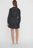 Vero Moda - Hazel skirt - navy & white