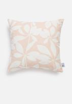 Sixth Floor - Cut-out cushion cover - dusty pink