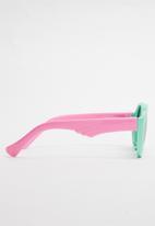 POP CANDY - Girls sunglasses - pink & green