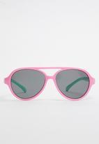 POP CANDY - Girls colour block sunglasses - pink & green