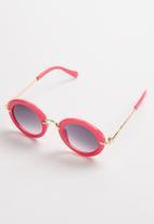 Rebel Republic - Round sunglasses - pink