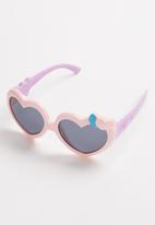 POP CANDY - Heart sunglasses - pink