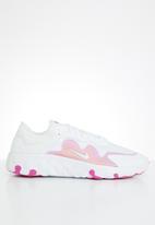 Nike - Renew Lucent - white/white-team orange-fire pink