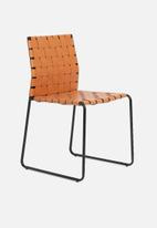 Sixth Floor - Woven dinning chair - brown