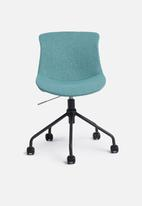 Basics - Rae office chair - teal