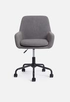 Basics - Anna office chair - grey