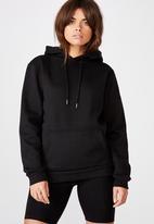 Factorie - Basic hoodie - black