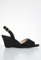 edit - Toya espadrille - black