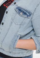 Carmakoma - Lock denim jacket - blue