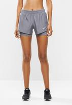 Nike - Nike 2in1 short - grey