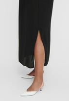 Carmakoma - Festiono sleeveless maxi dress - black