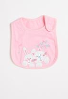 POP CANDY - Girls bunny bib - pink