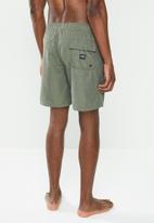 Billabong  - All-day-slub layback board shorts - army