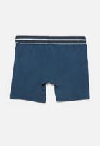 Jockey - Single nylon stretch long leg trunks - insignia blue