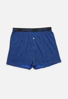 Jockey - Single printed loose fit boxers - med stripe