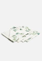 Sixth Floor - Eucalyptus  napkin set of 4